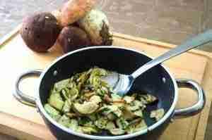 Funghi Porcini aglio e prezzemolo